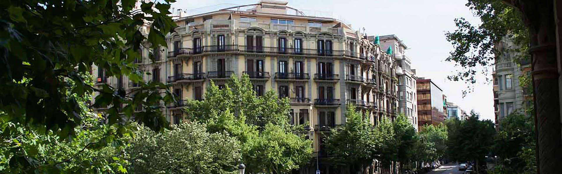 hostal en el centro de Barcelona